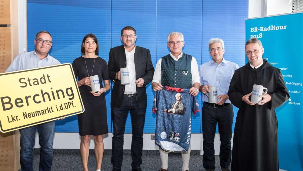 Die BR-Radltour 2018 macht Station in Berching