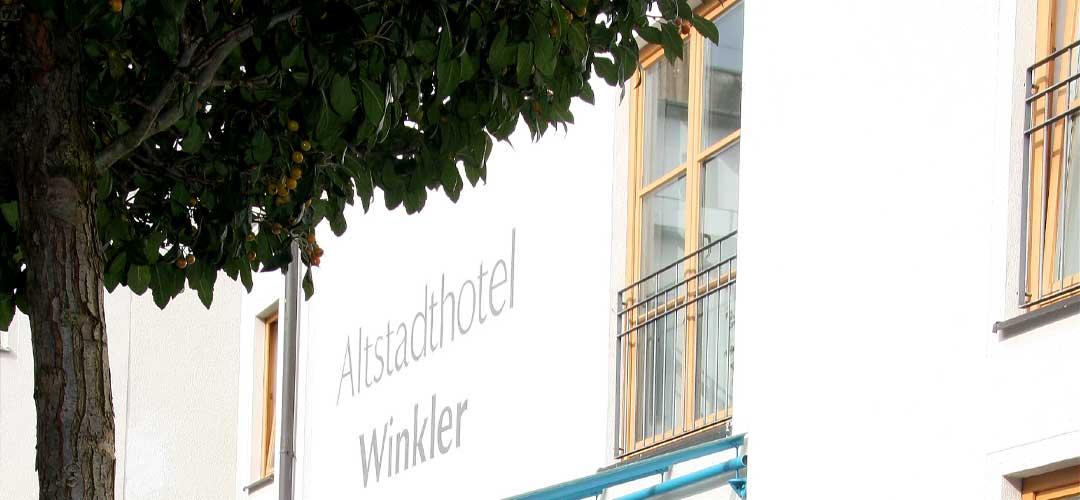 Ansicht-Hoteleingang