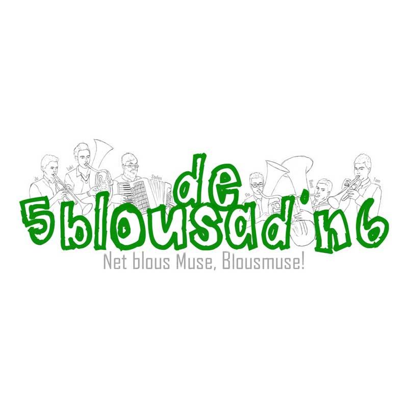 Blasmusik im Biergarten Berching mit De 5 blousad'n 6